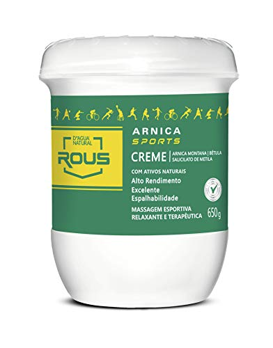 Arnica Sports Creme, D'agua Natural, 650 g