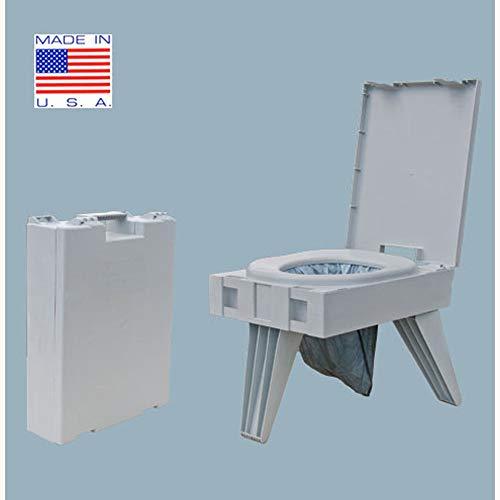 Cleanwaste Vaso sanitário portátil com 1 kit de resíduos (D119PET)
