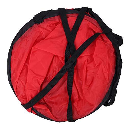Folany Vela de canoa, vela de vento resistente fácil de usar para a maioria das pessoas para canoas de caiaque, equipamento inflável, barcos (vermelho)