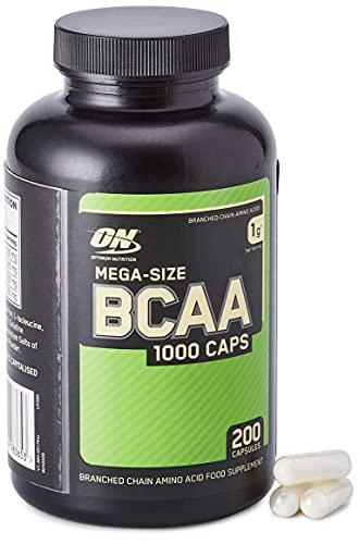 BCAA Mega-Size 1000 (200 Caps), Optimum Nutrition