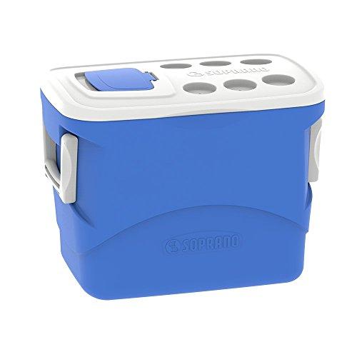Caixa Térmica Tropical 50L, Soprano, 0032, Azul, Grande