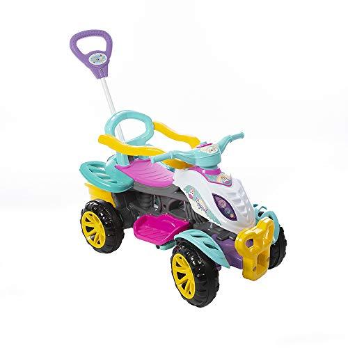 Quadriciclo Menina Caixa, Maral, Multicor