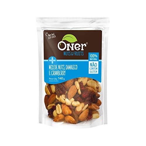 Mix de Nuts, Damasco e Cranberry Oner 140g