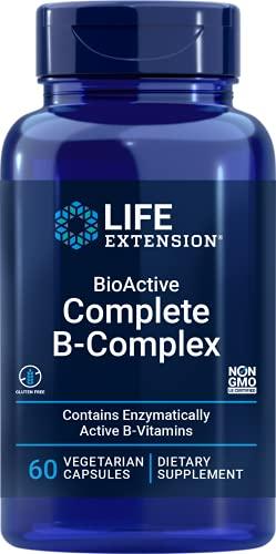 Bioactive Complexo B (60 Veggie Capsules) Life Extension
