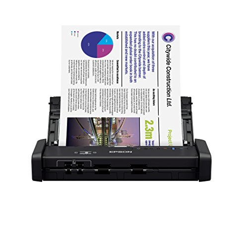 Scanner Epson WorkForce ES-200, Epson, ES-200, Preto
