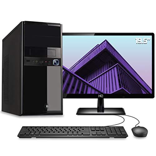 Computador Desktop Completo Quantum Intel Core i3 6GB HD 500GB Monitor 19.5