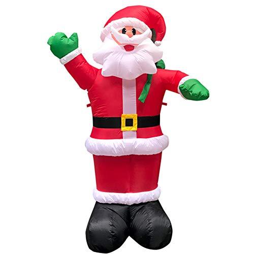 ChuW Boneco de neve/boneco de neve inflável, Halloween, Natal, Dia das Bruxas, modelo de ceifador, iluminação de Natal, decoração para ambientes externos