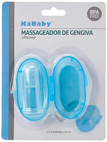 Massageador De Gengiva Azul, Kababy, Azul