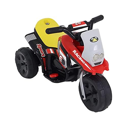 Moto Elétrica, Belfix, Triciclo, Vermelho, 6V