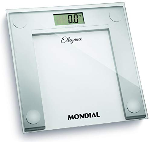 Balança Digital Mondial, Ellegance, Bivolt, Branco - BL-03