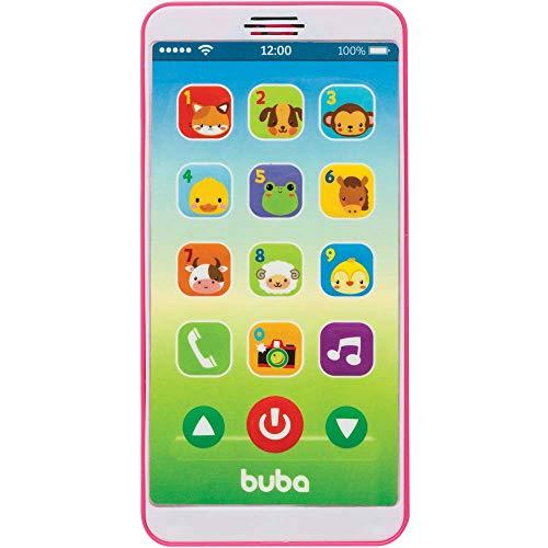 Baby Phone, BUBA, Rosa, Tamanho Único