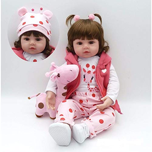 Boneca Bebê Reborn Bianca Corpo Inteiro Silicone P/ Dar Banho