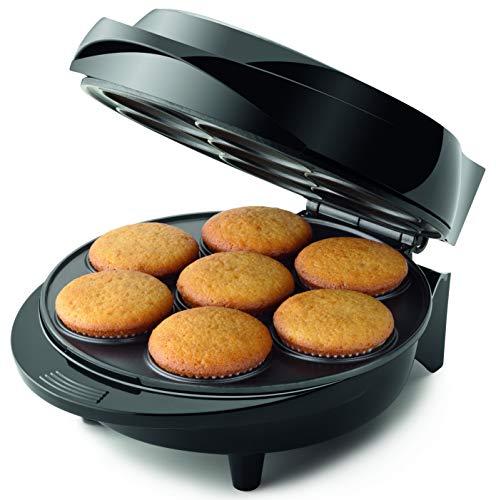 Máquina de Cupcake Mondial, Pratic, 127V, Preto/Inox, 1000W - CK-01
