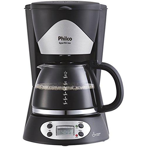 Cafeteira, Digital Ph14, 14 xicaras, Preto, 110V, Philco