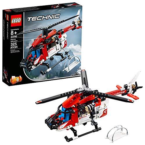 Lego Technic Helicóptero de Salvamento 42092