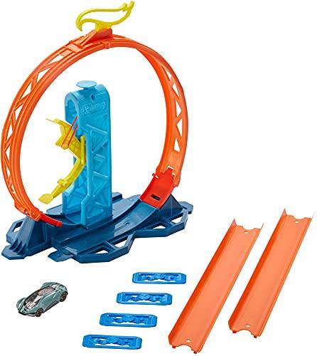 Pista Hot Wheels, Track Builder, Kit Expansão, Mattel, GLC87