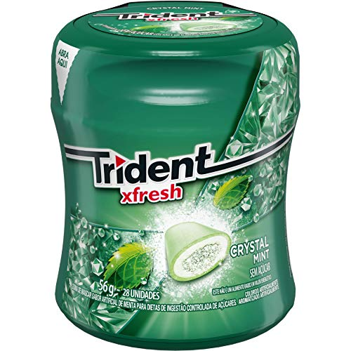 Gomas de Mascar Fx Garrafa Mint Trident 56g