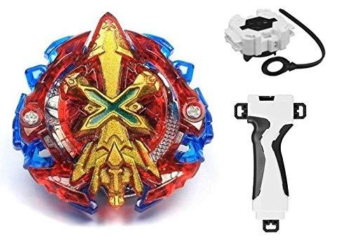 Beyblade Burst: Xeno Xcalibur + Lançador + Grip Suporte - Storm Gyro