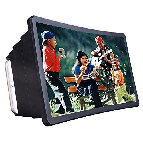 Docooler Expansor de tela de vídeo celular ampliador amplificador Stand Holder para exibição de filme 3D