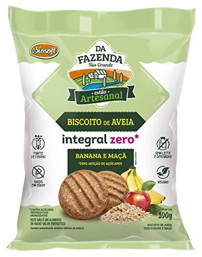Biscoito Com Aveia Zero Banana E Maca 100g