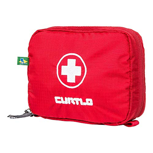 Bolsa Kit Primeiros Socorros P Curtlo, Vermelho