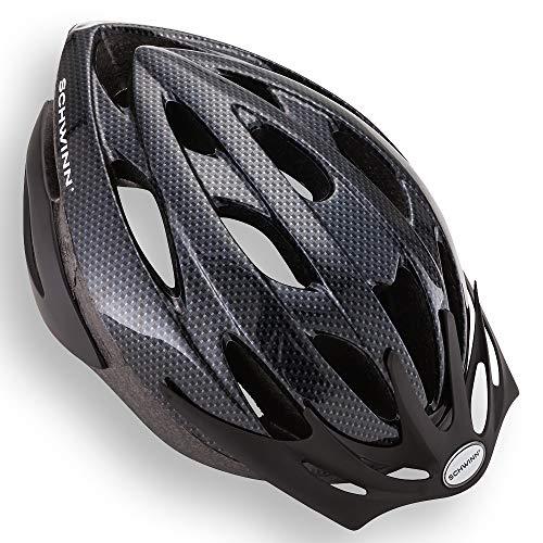 Capacete de bicicleta Schwinn Thrasher, design de microcasca leve, adulto, carbono