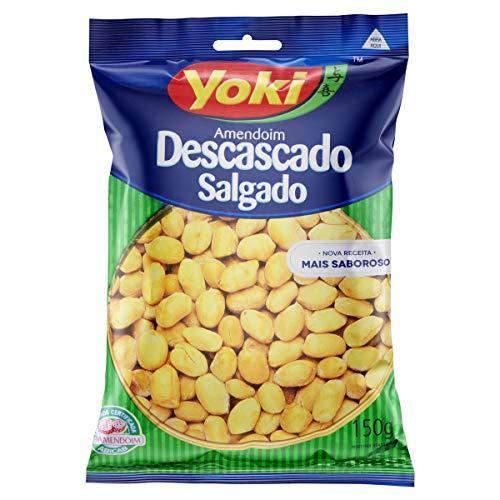 Amendoim Descascado Salgado Yoki 150g