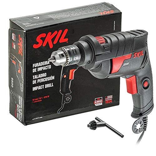 Furadeira de Impacto Skil 6600 570W 220V com chave de mandril