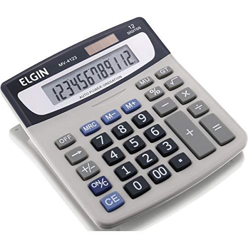 Calculadora De Mesa Mv-4123 ELGIN, Multicor
