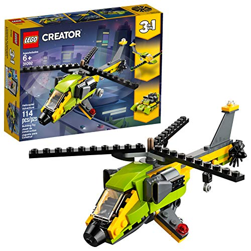 Lego Creator Aventura de Helicóptero 31092