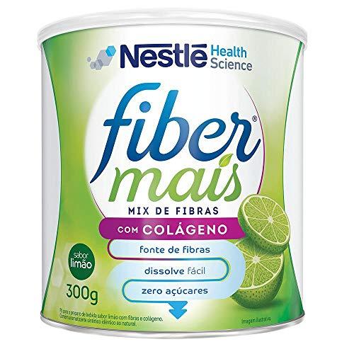 Regulador Intestinal FIBER MAIS Limão com Colágeno 300g