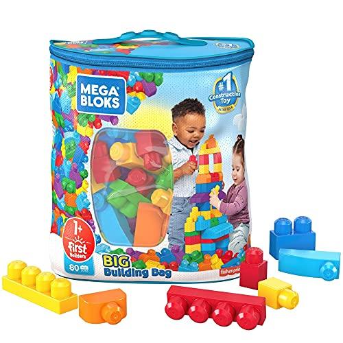 Mattel, Mega Bloks Sacola de 80 Blocos