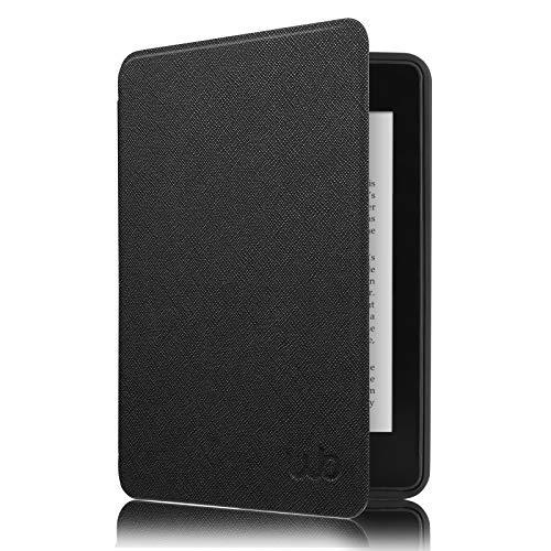 WB - Capa Novo Kindle 10a. Geração - Ultra Leve Auto Hibernação Sensor Magnético Silicone Flexível, Preta