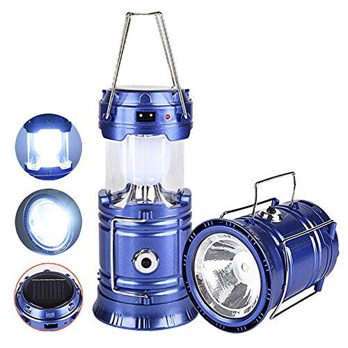 Lampiao Lanterna Energia Solar Led Bateria Recarregavel Usb
