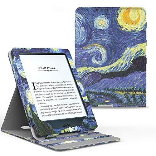 Capa Novo Kindle Paperwhite a prova D'água WB ® Premium Vertical Auto Hibernação (Van Gogh)